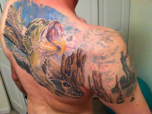 Contest Winners for Best Hunting and Fishing Tattoos