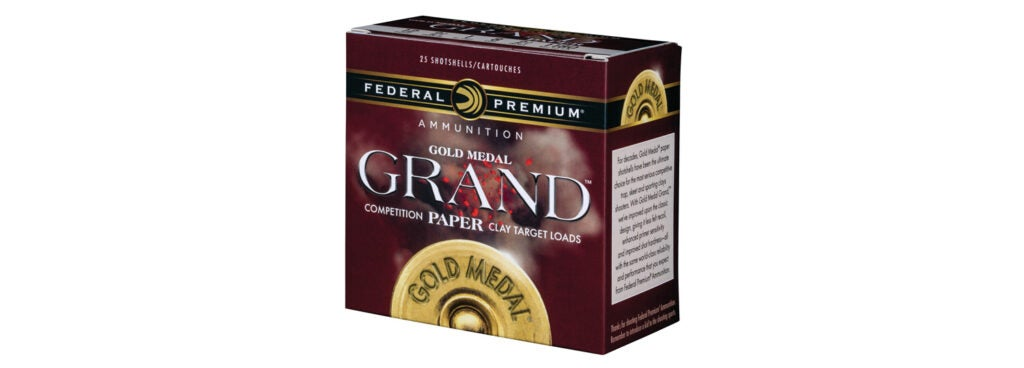 Federal Premium Gold Medal Grand Competition Paper Target Loads
