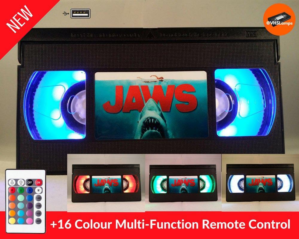Jaws VHS Mood Light