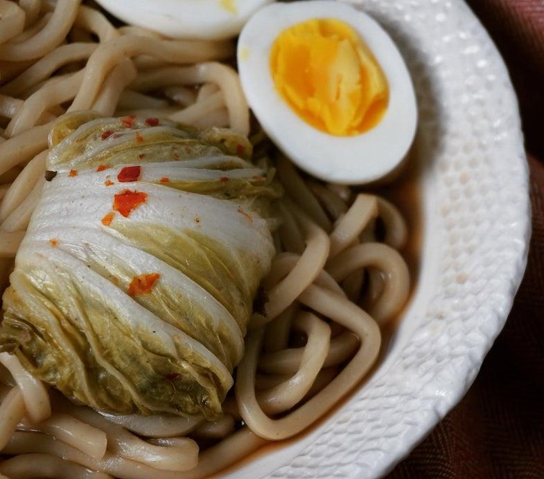 Recipe: Elk-Stuffed Asian Cabbage Rolls