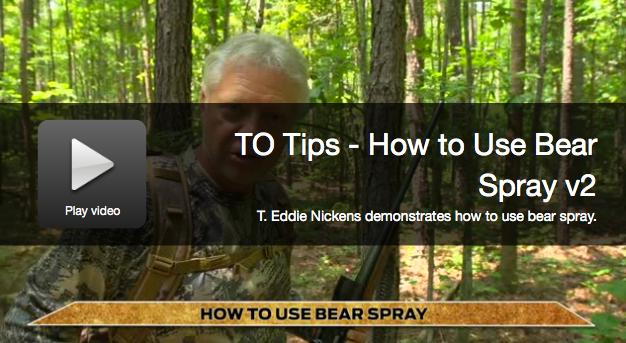 Video: How to Use Bearspray