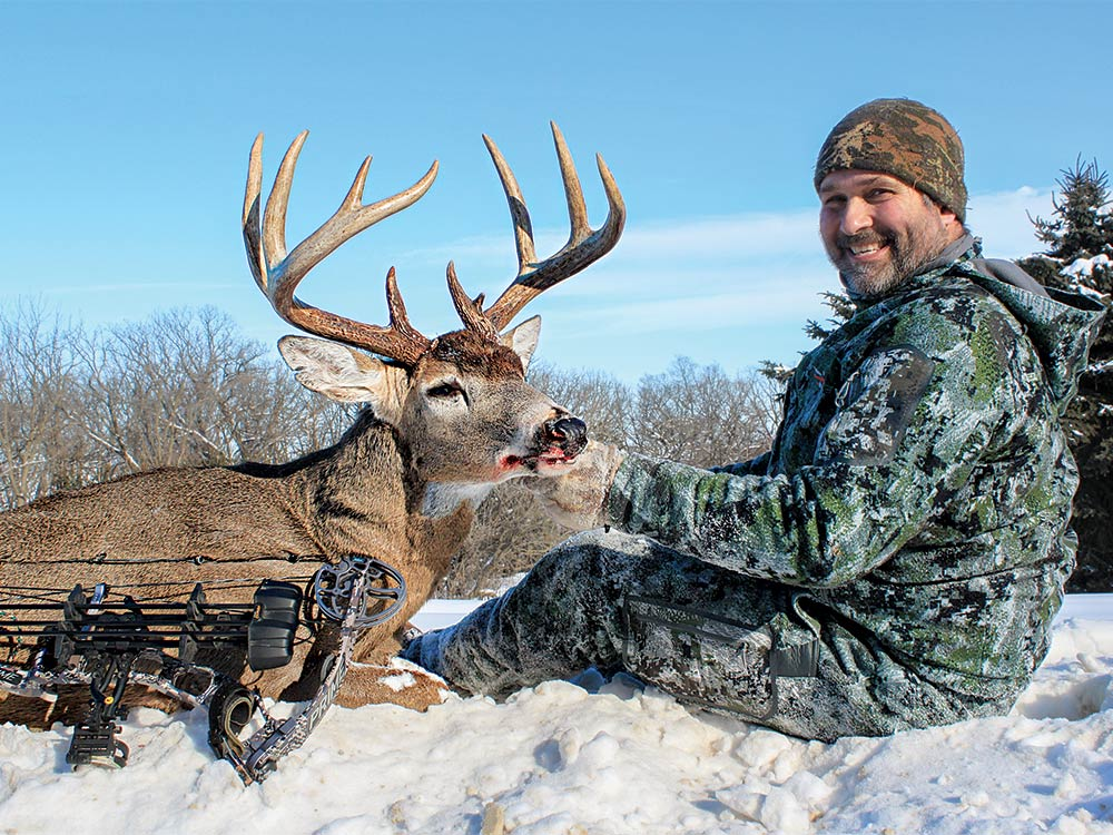 dave olson whitetail deer hunting