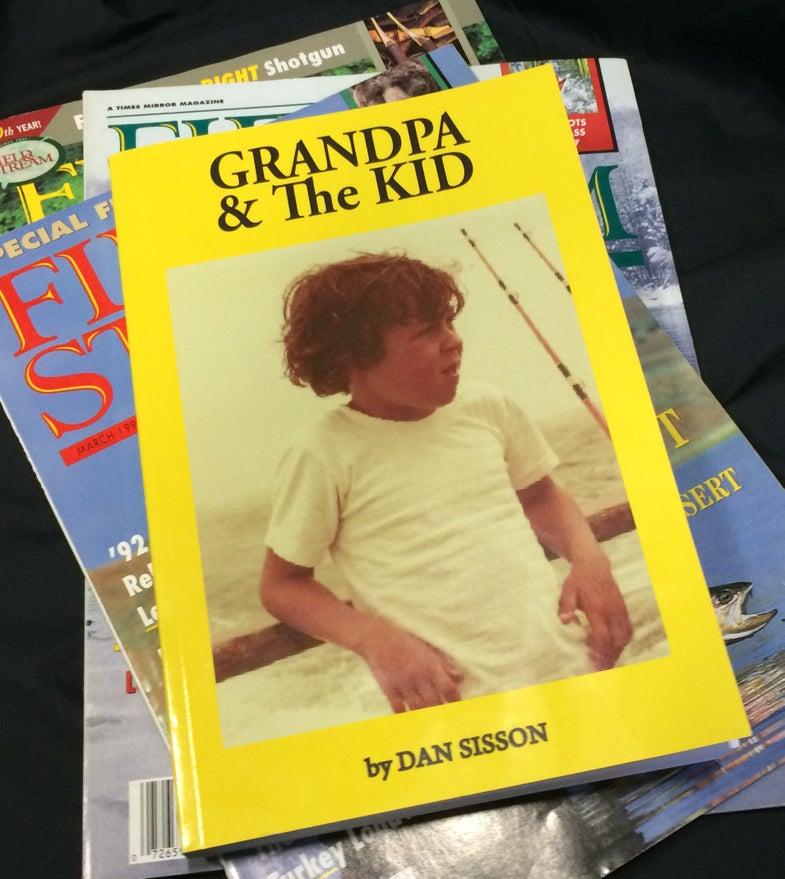 dan sisson; grandpa and the kid; alan sisson; classic book