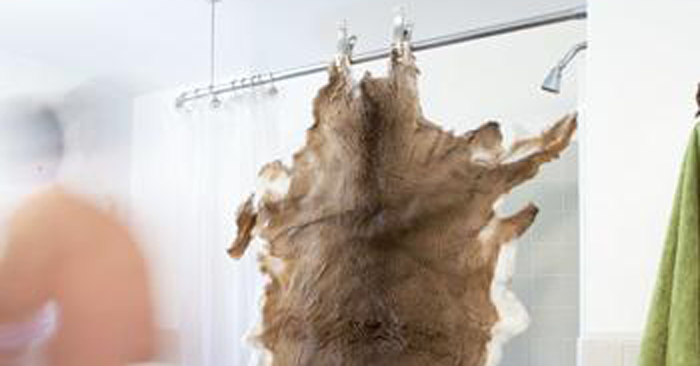 How to Tan a Deer Hide In Your Bathtub