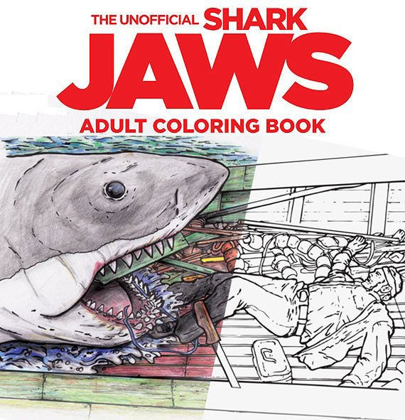 The Unofficial Jaws Adult Coloring Book