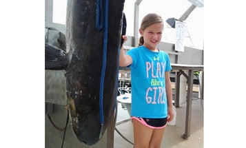 This 9-Year-Old Girl Just Shattered Maryland's Cobia Record