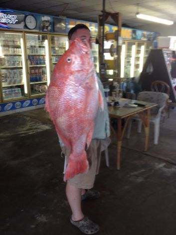 Red Snapper Breaks 2 Texas State Records