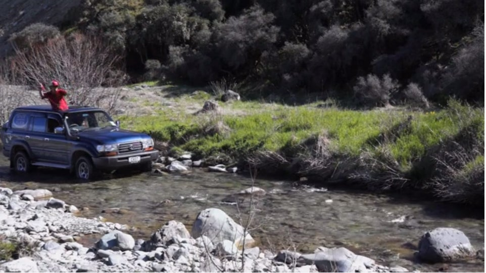 Flyfishing From An SUV In New Zealand