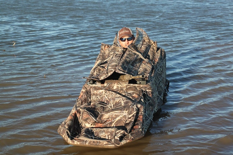 New Gear, Waterfowl Blind, Momarsh Invisilay, Duck Hunting, MD Johnson