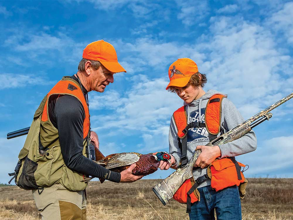 father son hunting lessons