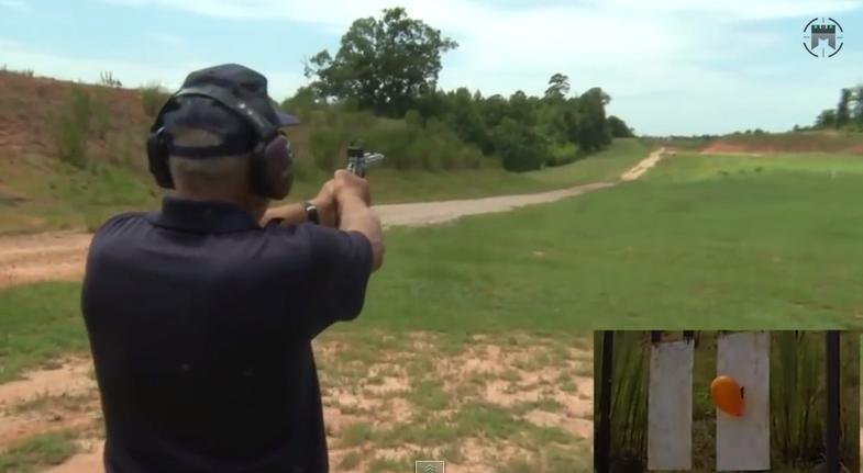 Video: A 1,000-Yard Pistol Shot?