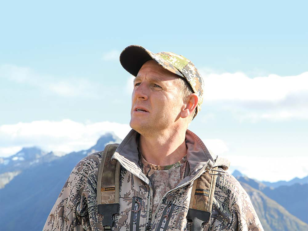 New Zealand hunting guide, Dan Rossiter
