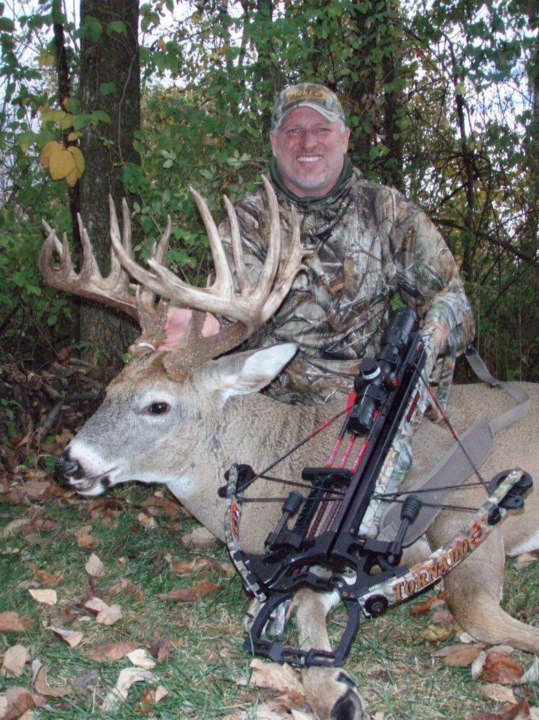 Ohio Hunter Arrows Monster Buck With Crossbow