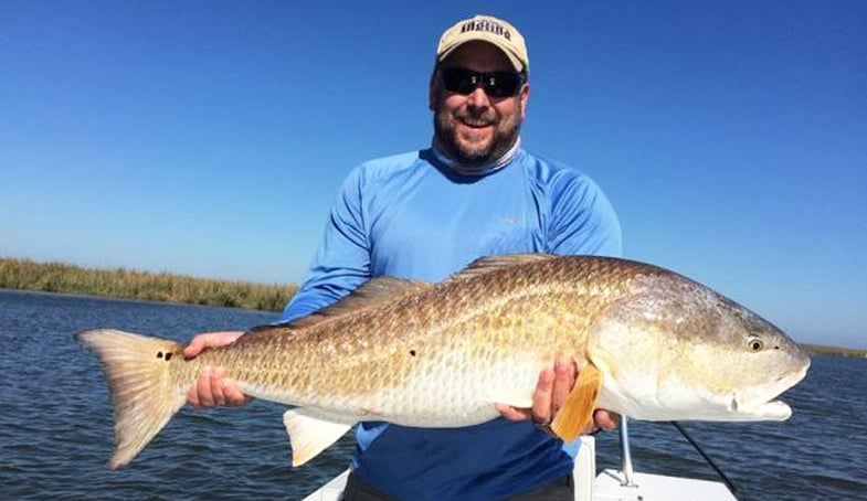 A First Saltwater Fly-Fishing Trip? Get Your Louisiana Redfish On