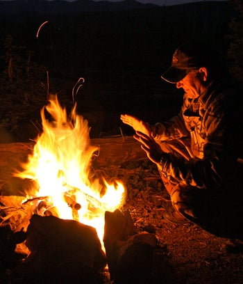 How to Make a Fire Without Conventional Tools