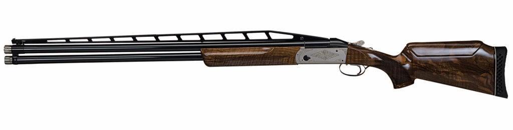 The Remington 32/Krieghoff K-80 on a white background.