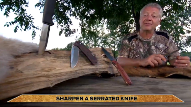 Total Outdoorsman: How to Sharpen a Serrated Knife