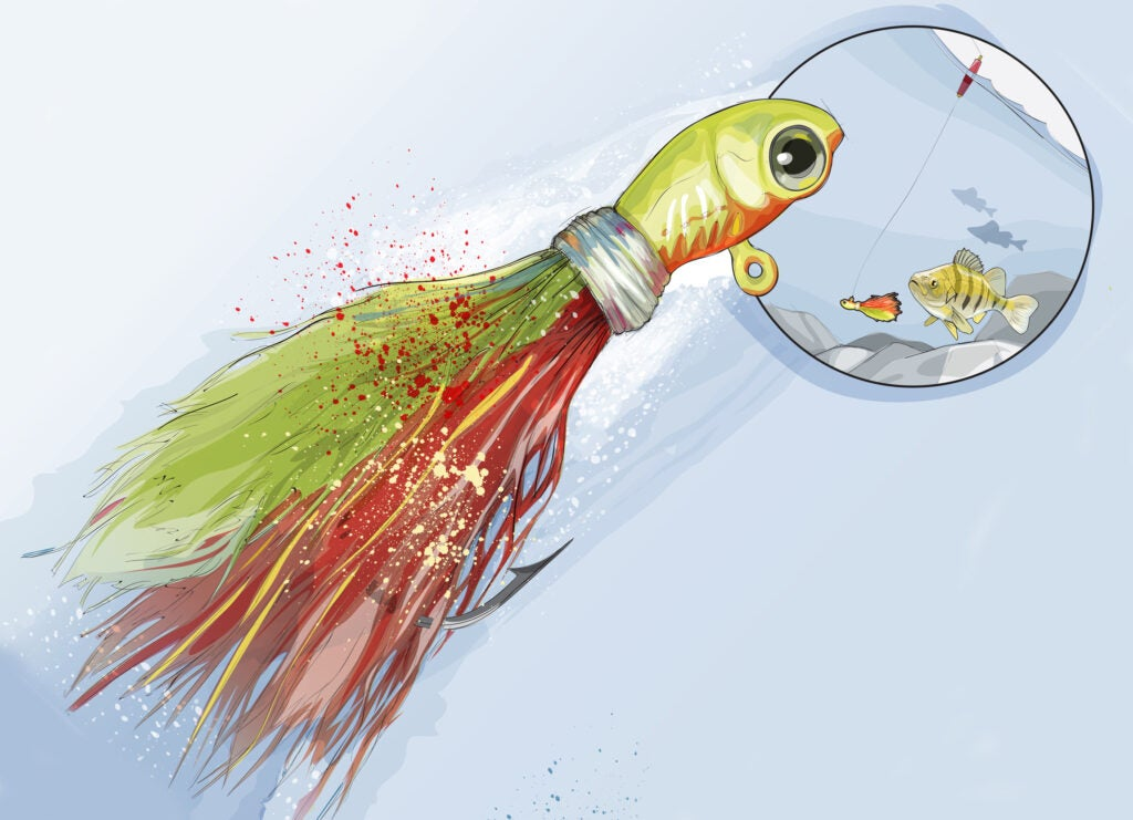 bucktail jig panfish