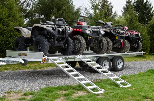 ATV Gear Review: Aluma A8816 Trailer