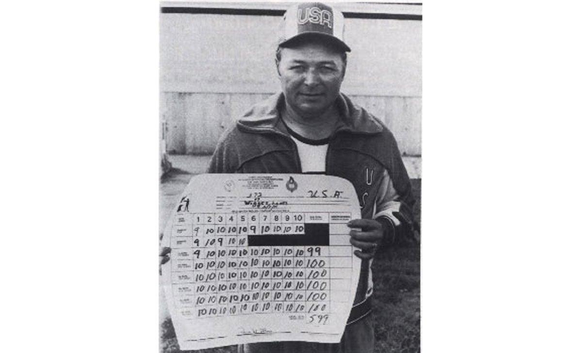 Lones Wiggins Jr., marksman, world record, 1979, english match