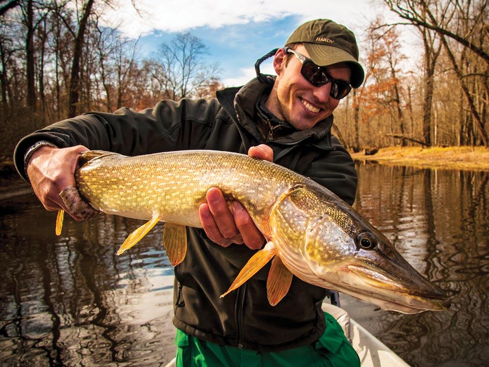 Fall pike fishing