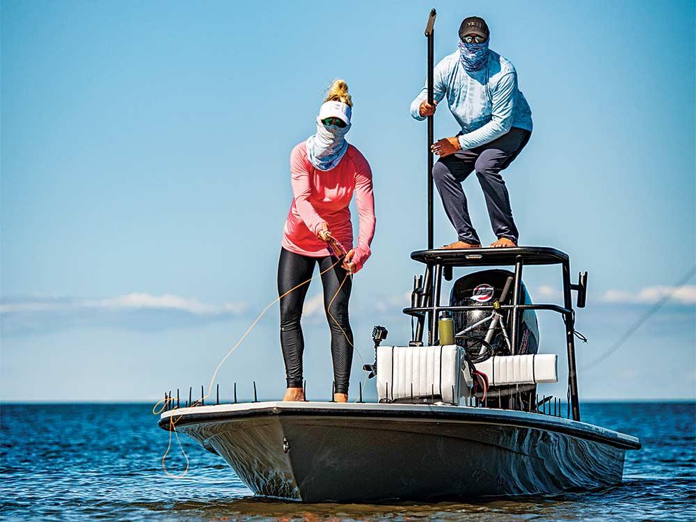 woman fishing louisiana
