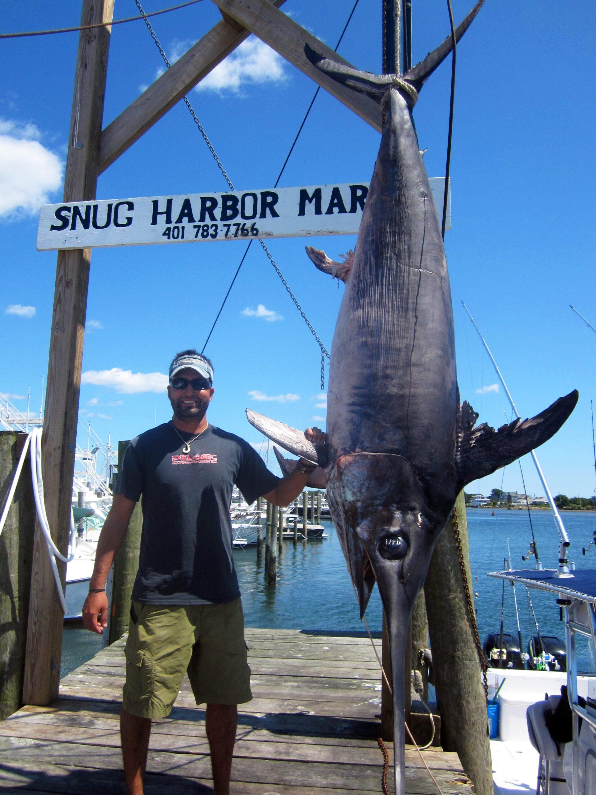 Photos: New Rhode Island Record Swordfish