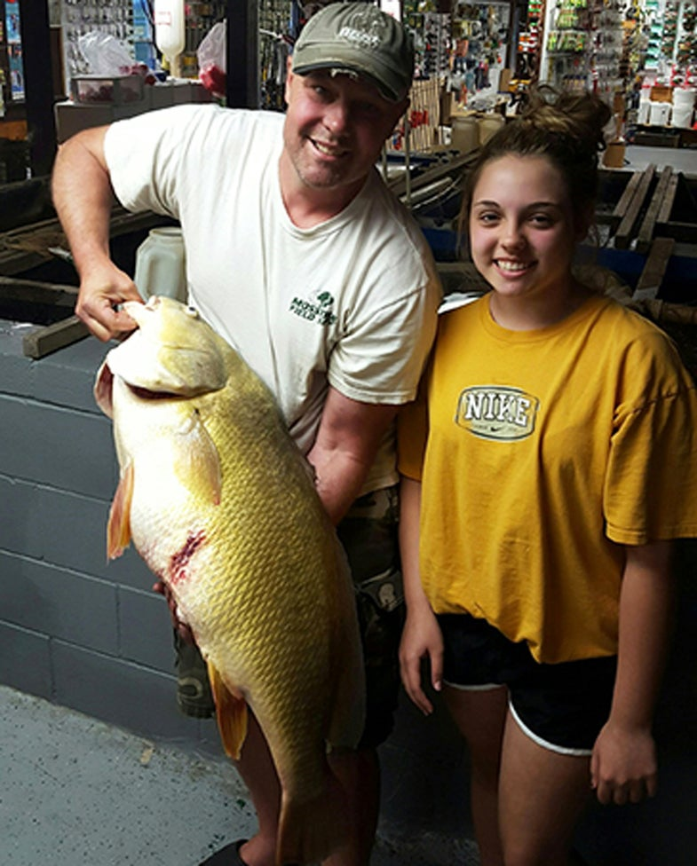 New York 12-Year-Old Lands Record Freshwater Drum