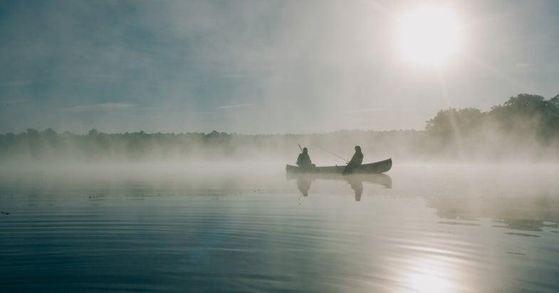 fish camp, canoe camping, best canoe camping, camping,
