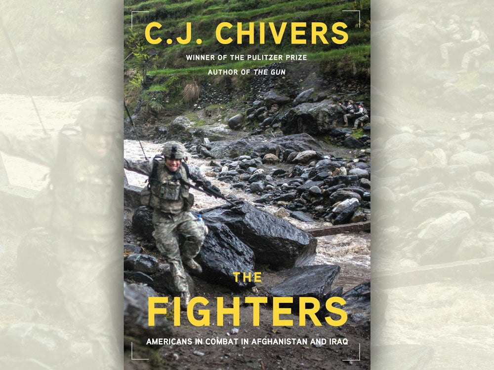 CJ Chivers Fighters book cover
