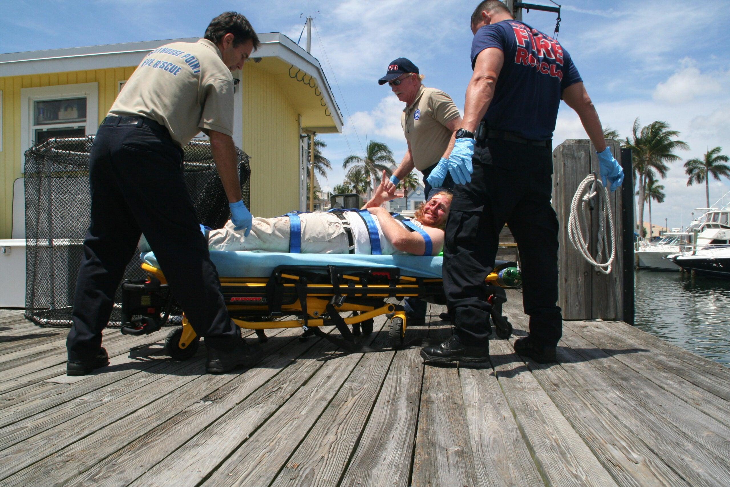 Close Calls: Slashed By a 355-Pound Swordfish