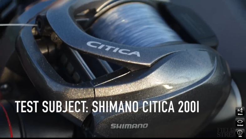 New Baitcasting Reel: Shimano Citica 200I