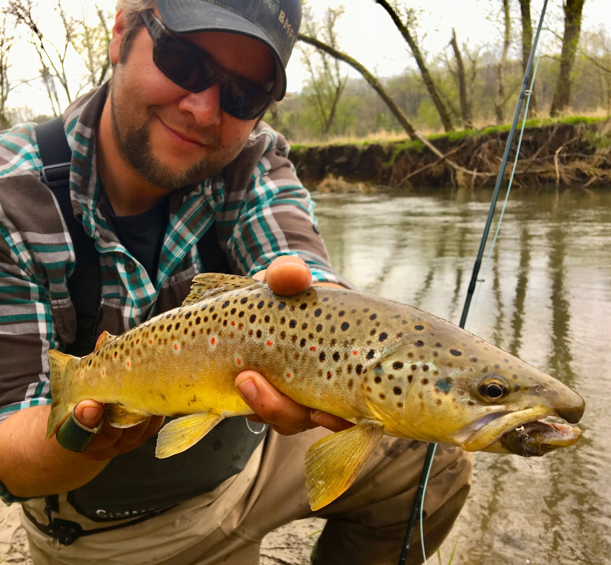 Hook Shots: Operation Iowa Brown Trout
