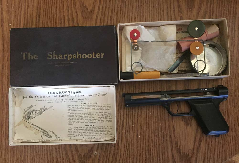 sharpshooter fly gun