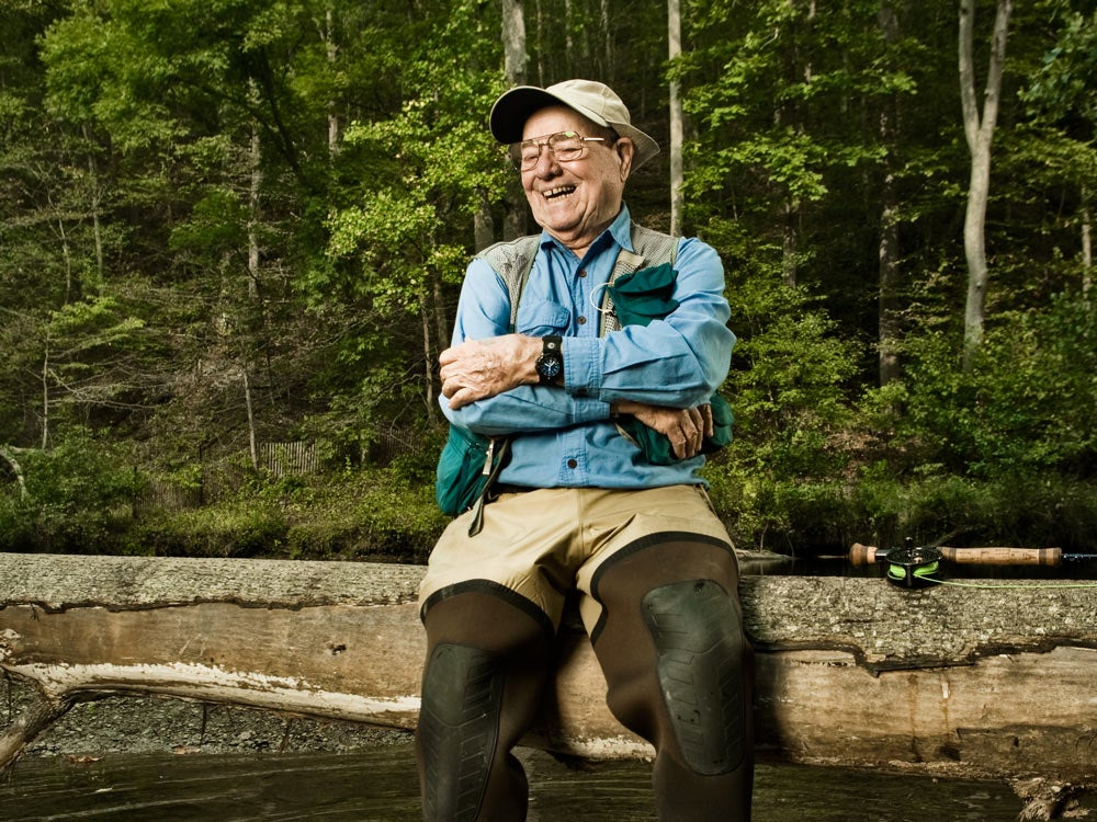 lefty kreh flyfisherman