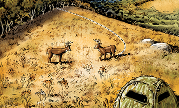 Deer Hunting Tactic: How to Kill the No-Cover Buck