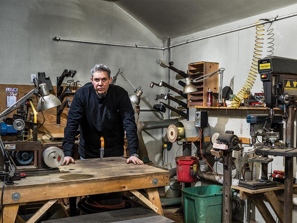 burt foster knife crafter