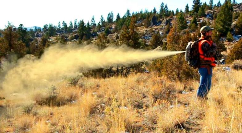 Stuntman Creates Bear Spray Backpack