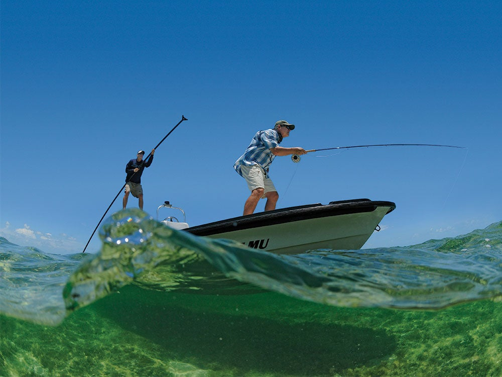 Floriday bay flats guide and angler