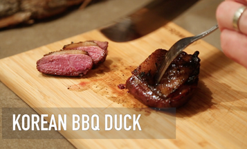 Korean BBQ Duck
