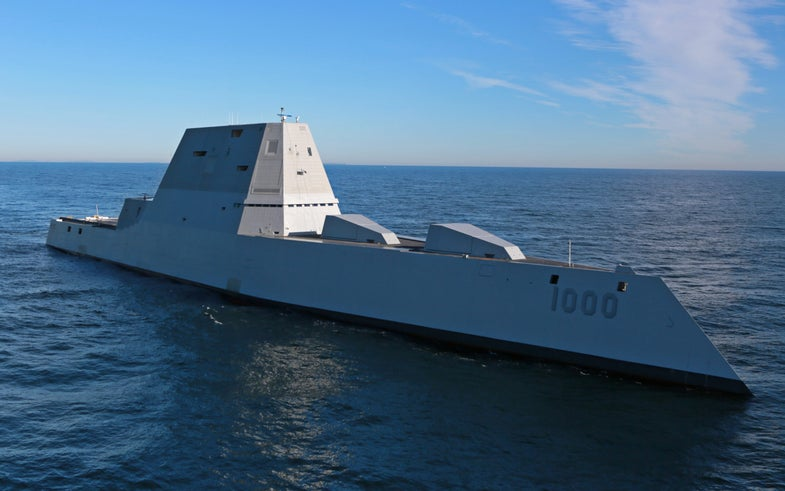 The Navy's Newest Destroyer