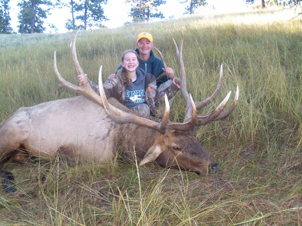 Fourteen-Year-Old Nebraska Girl Shoots Potential State-Record Elk