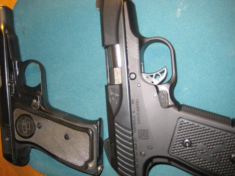 remington model 51 handgun