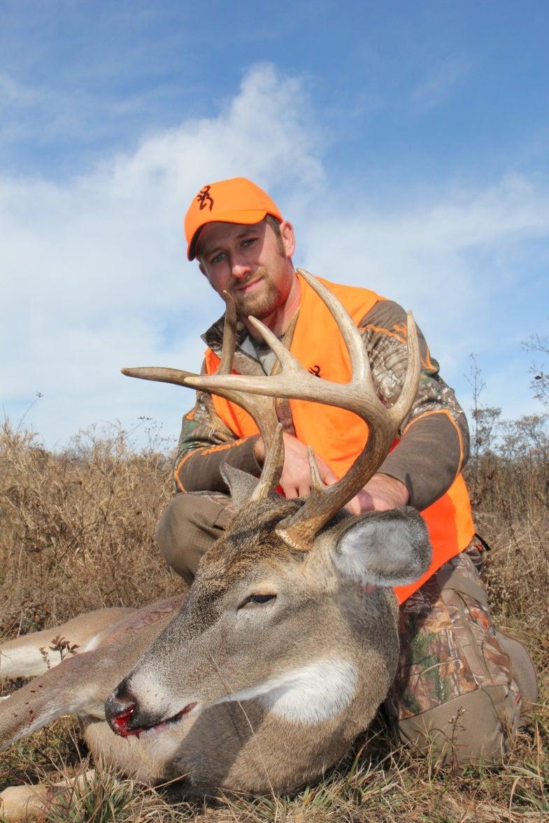mid-south rut buck