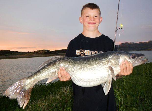 Montana Fifth-Grader Breaks His Own Walleye Record