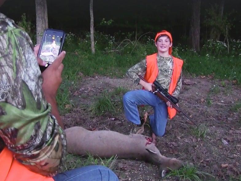 A First Deer Story