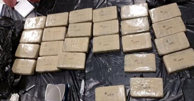 Off-Duty Officer Reels in $10M Worth of Cocaine While Fishing
