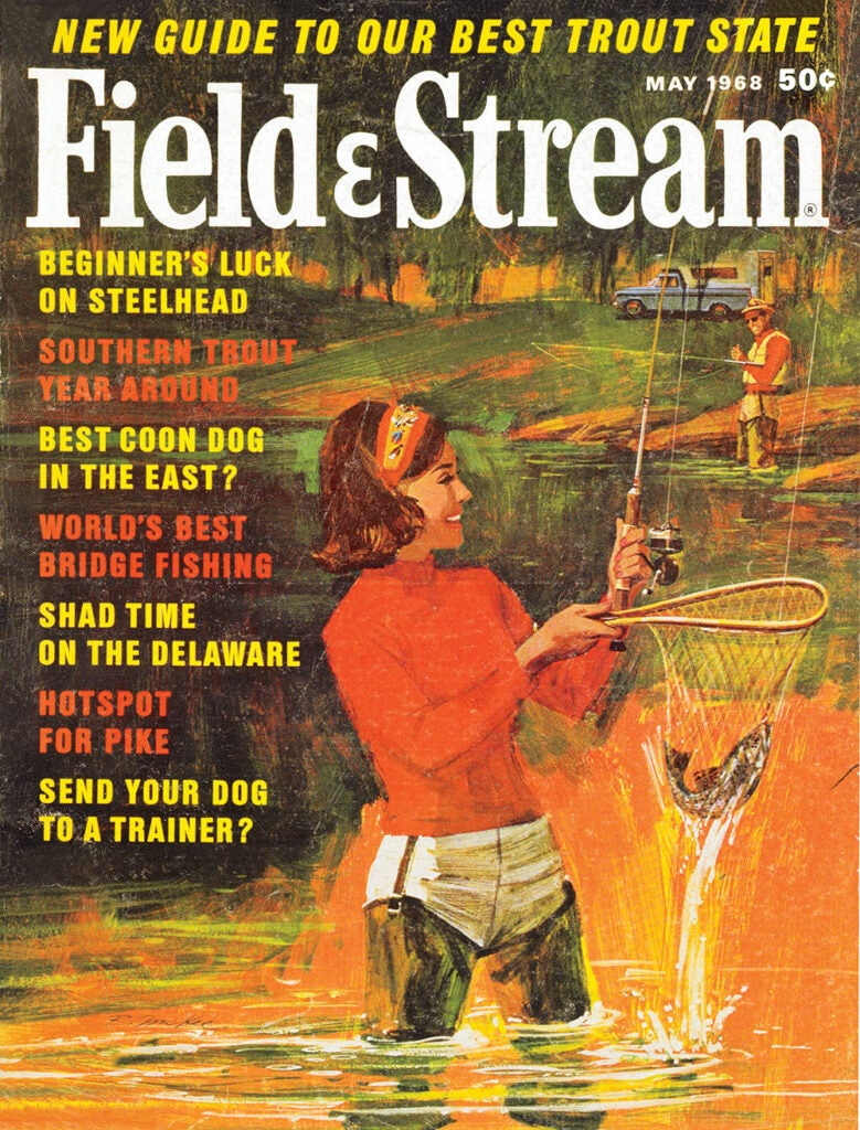 women, cover, vintage, F&S, fishing, 60s