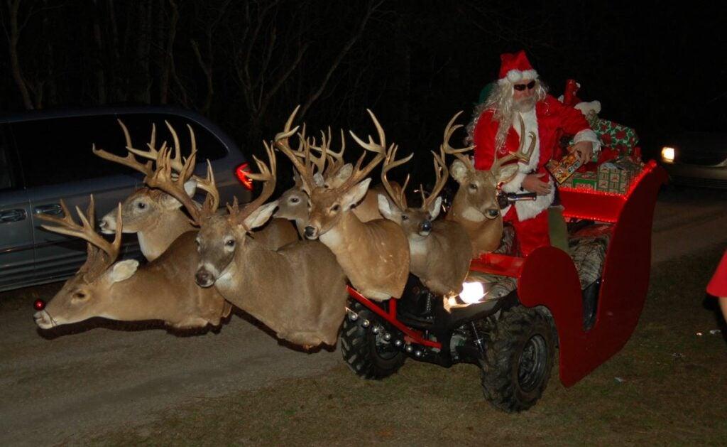 httpswww.fieldandstream.comsitesfieldandstream.comfilesimport2015christmas-santa-ATV.jpg