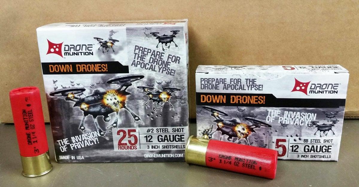 Idaho Company Selling Drone-Specific Ammunition
